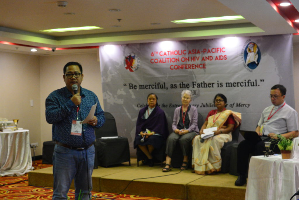 Selected participants reporting on their country HIV-AIDS situation